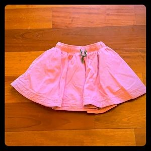 Mini Boden Pink Corduroy Skirt